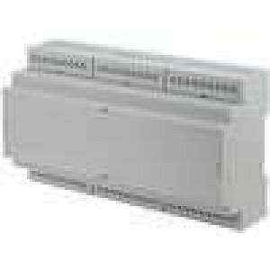 Kryt na přípojnici DIN X:159,5mm Y:90,2mm Z:57,9mm ABS šedá