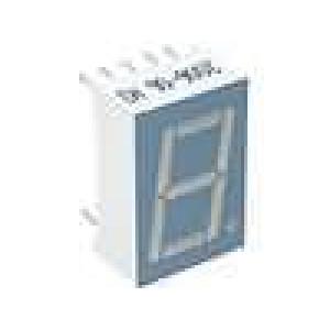 LED display jednomístný 7-segmentový 14,22mm   anoda