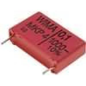 Kondenzátor polypropylénový 100nF 1kVDC 22,5mm 300V/μs