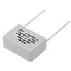 Kondenzátor X1,polypropylénový 330nF 22,5mm ±20% 26x18x10mm