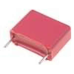 MKP-X2-4N7 Kondenzátor X2,polypropylénový 4,7nF 7,5mm ±20% 4x9x10mm