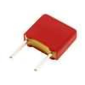 Kondenzátor polyesterový 1nF 160VAC 250VDC rozteč 5mm