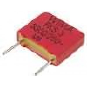 Kondenzátor polyesterový 3,3nF 160VAC 250VDC rozteč 7,5mm