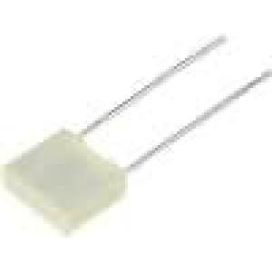 Kondenzátor polyesterový 3,3uF 50V rozteč 5mm -55-105°C