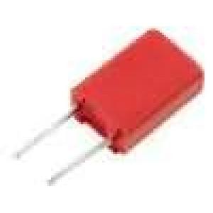 Kondenzátor polyesterový 100nF 40VAC 63VDC rozteč 2,5mm ±20%