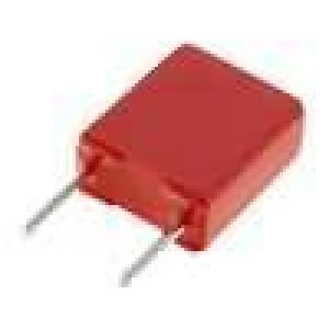 Kondenzátor polyesterový 220nF 63VAC 100VDC rozteč 5mm