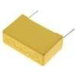 Kondenzátor polyesterový 1uF 400VDC rozteč 15mm