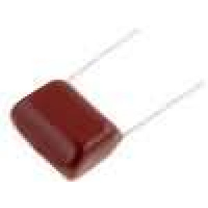Kondenzátor polyesterový 2,2uF 250VDC rozteč 20mm