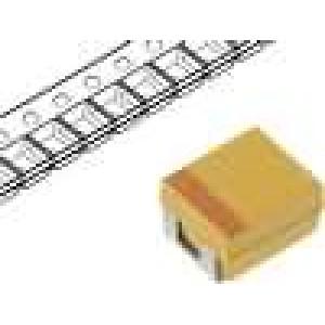 Kondenzátor polymerový tantalový 100uF 6,3V B ESR:45mΩ