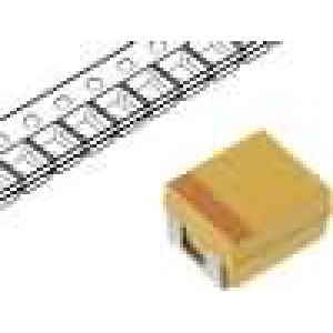 Kondenzátor polymerový tantalový 33uF 6,3V B ESR:200mΩ