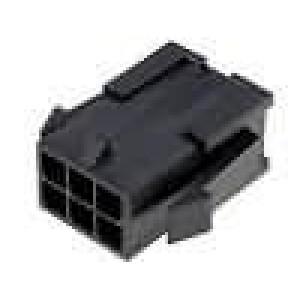 Zástrčka kabel-pl.spoj vidlice 3mm 6 PINřada Micro-Fit 3.0