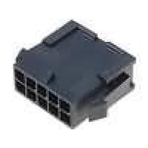 Zástrčka kabel-pl.spoj vidlice 3mm 10 PIN řada Micro-Fit 3.0