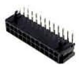 Zásuvka kabel-pl.spoj vidlice 3mm 24 PIN pocínovaný 5A 250V