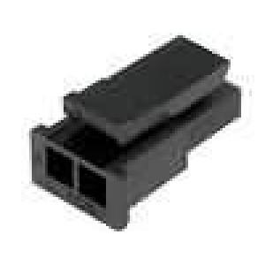 Zástrčka kabel-pl.spoj zásuvka Micro-Fit 3.0 3mm PIN: 2