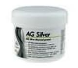 Termovodivá pasta stříbrná silikon + stříbro 100g AG SILVER