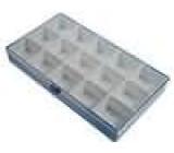 Zásobník - krabička s přihrádkami 295x175x42mm