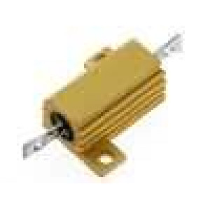 Rezistor drátový s radiátorem přišroubováním 10R 16W ±5%