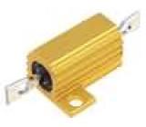 Rezistor drátový s radiátorem přišroubováním 15R 10W ±5%