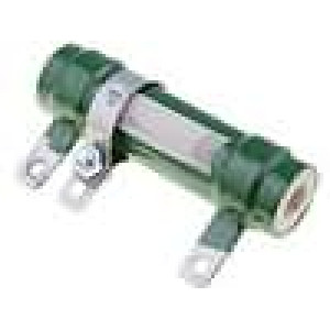 Rezistor drátový 2K 25W Ø18x75mm konektor pájecí