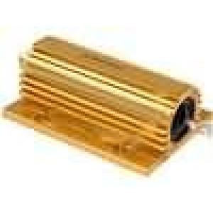 Rezistor drátový s radiátorem přišroubováním 47R 100W ±5%