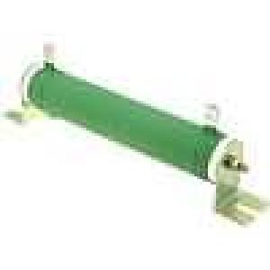 Rezistor drátový 4,7R 100W ±5% Ø28x151mm 200ppm/°C konektor očka