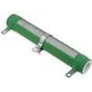 Rezistor drátový nastavitelný 47R 100W Ø28x165mm
