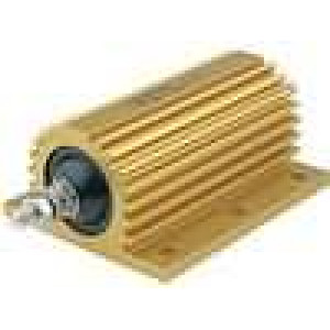 Rezistor drátový s radiátorem přišroubováním 22R 200W ±5%