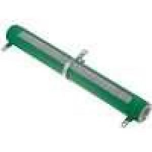 Rezistor drátový nastavitelný 10R 200W Ø33x265mm