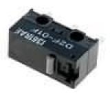 Mikrospínač SNAP ACTION bez páčky SPDT 0,1A/30VDC ON-(ON)