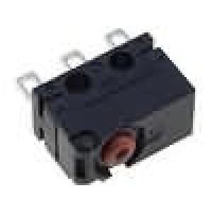 Mikrospínač bez páčky SPDT 2A/125VAC 2A/30VDC ON-(ON) IP60
