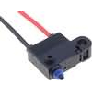 Mikrospínač bez páčky SPST-NC 0,1A/125VAC 2A/12VDC ON-(OFF)