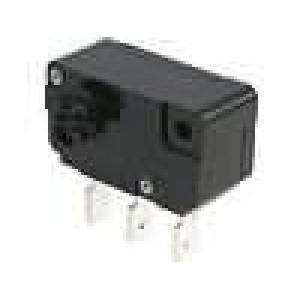 Mikrospínač SPDT 5A/250VAC Pracuje s CAA1M
