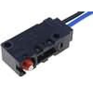 Mikrospínač bez páčky SPST-NO 0,1A/125VAC 0,1A/30VDC IP67