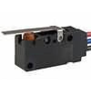 Mikrospínač s páčkou SPDT 0,1A/125VAC 0,1A/30VDC ON-(ON)