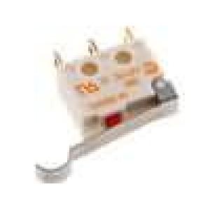 Mikrospínač s páčkou simulující kladku SPDT 5A/250VAC IP40