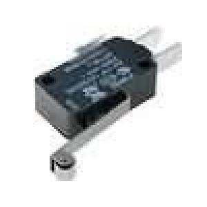 Mikrospínač s páčkou (s kladkou) SPDT 22A/250VAC ON-(ON)