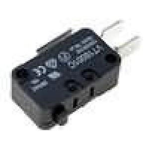 Mikrospínač SPDT 16A/250VAC ON-(ON) 1-polohové IP40 -25-70°C