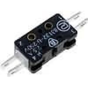 Mikrospínač bez páčky SPST-NO + SPST-NC 2,5A/250VAC ON-(ON)
