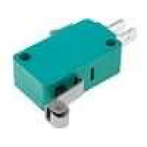 Mikrospínač SNAP ACTION s páčkou (s kladkou) SPDT 10A/250VAC