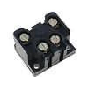 Mikrospínač bez páčky SPST-NO + SPST-NC 6A/400VAC ON-(ON)