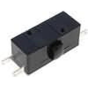 Mikrospínač bez páčky SPST-NO + SPST-NC 1,6A/400VAC ON-(ON)