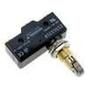 Mikrospínač s příčnou kladkou SPDT 15A/250VAC ON-(ON) IP40