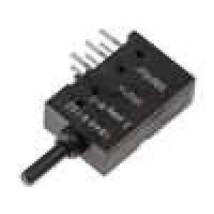 Mikrospínač 1-polohové DPDT 0,5A/60VDC THT 4N 5,6mm ON-(ON)