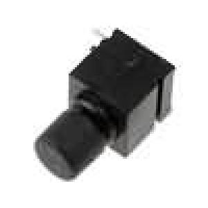Mikrospínač 1-polohové SPST-NO 0,5A/60VDC THT 5N 7,2mm černá