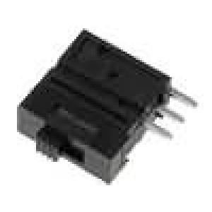Mikrospínač 2 polohy SPDT 0,1A/5VDC THT 7N 12,5x12x4,95mm