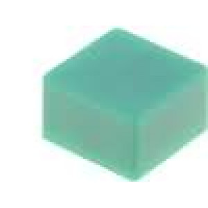 Hmatník čtvercový pro B3F-4x5x, B3F-5x5x, B3W-4x5x 9x9mm