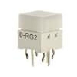 Mikrospínač 1-polohové SPST-NO 0,05A/24VDC THT LED 1,57N