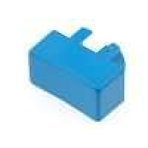 Hmatník obdélníkový modrá pro MEC3FTL6 12,5x6,5mm