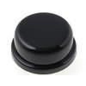 Hmatník kulatý černá pro TACTS-24 Ø13mm