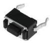 Mikrospínač 1-polohové SPST-NO 0,05A/12VDC THT 1,8N 3,5x6mm